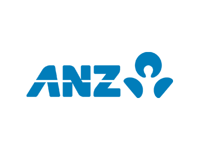 ANZ bank offers a range of personal banking and business financial solutions. This is the logo for that insitution which The Big Canvas has worked with.