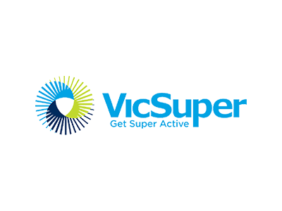 The Vic Super logo, a client of the Big Canvas