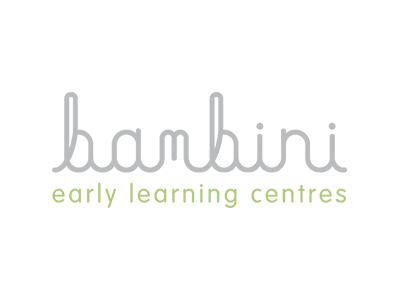 The Big Canvas has worked on an extensive training program for Bambini, this is the logo of Bambini.