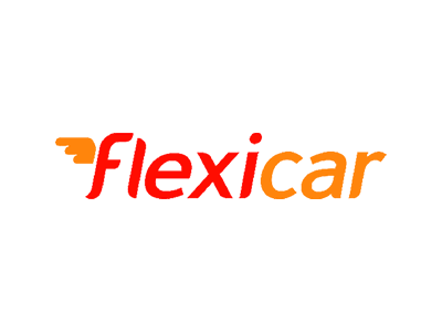 Flexicar logo, which The Big Canvas has worked with developing marketing and training materials