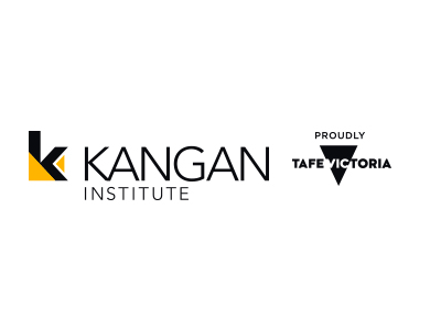 The Kangan Institute Logo, a client of the Big Canvas